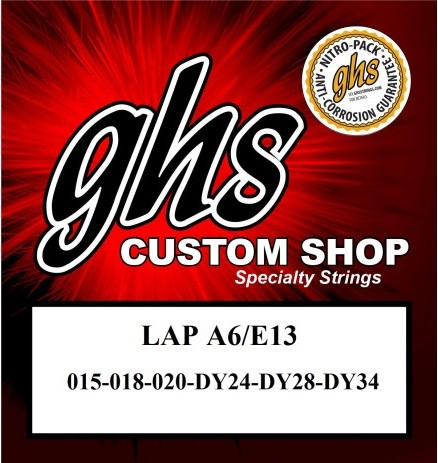 LAP A6 E13 Tuning Lapsteel
