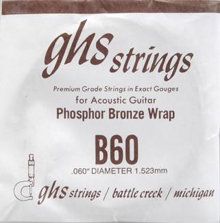 GHS - B60 Phosphor Bronze wound