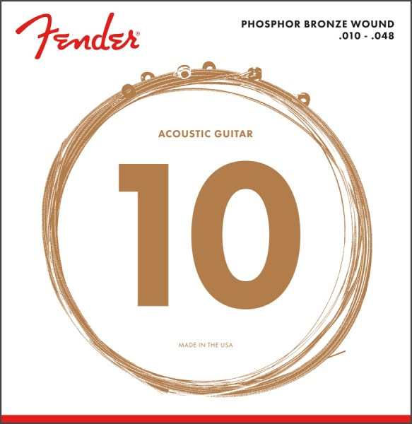 Fender - 60XL Phosphor Bronze 10-48