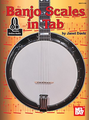 MB97010M Banjo Scales in Tab