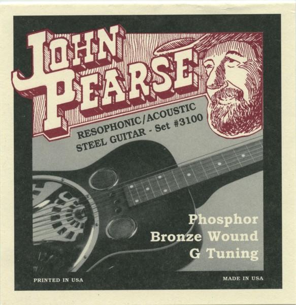 John Pearse - J3100 Resophonic Phosph.Bronze