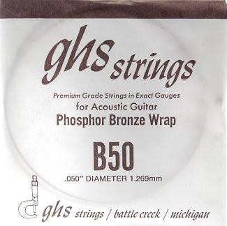 GHS - B50 Phosphor Bronze wound