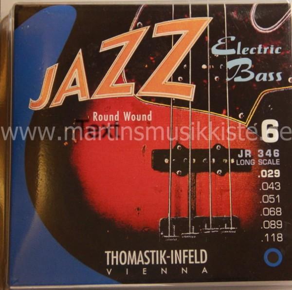 JR346 Bass 6S Roundwound