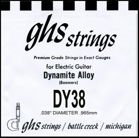 GHS - DY38 Boomers nickel wound 038