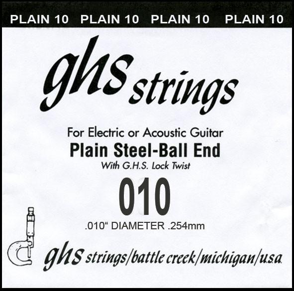 DY010P 010 plain Ball End
