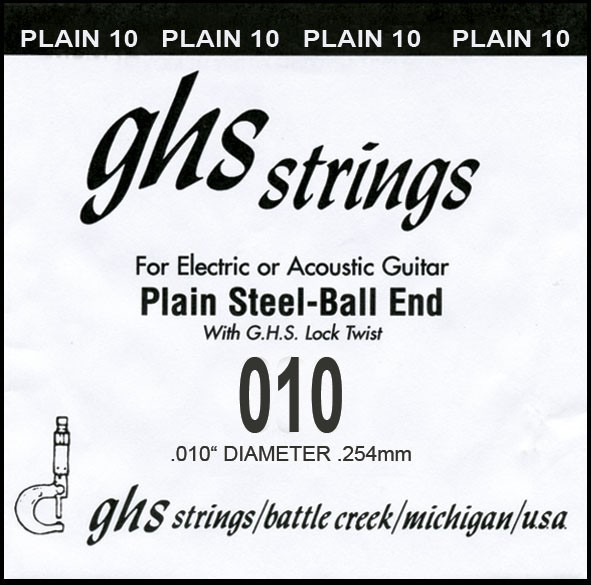 GHS - DY010P 010 plain Ball End
