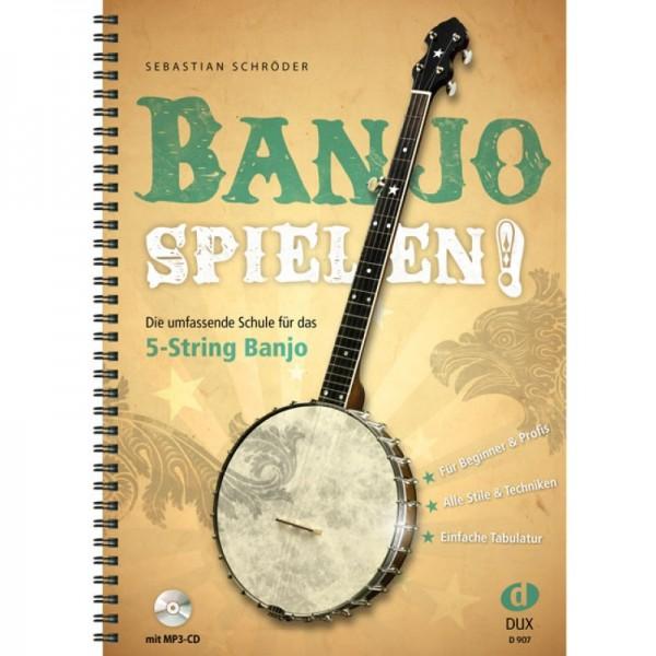 D907 Banjo spielen 5 String