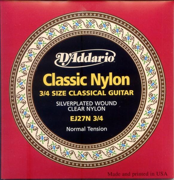 DAddario - EJ2734 Kinder Classic Nylon