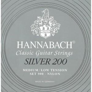 Hannabach - 900MLT Silber 200