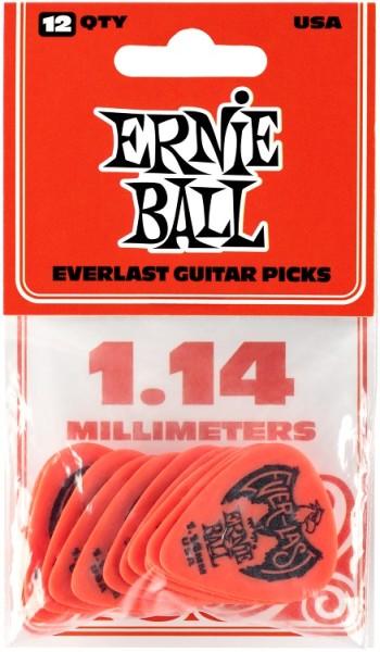 Ernie Ball - EB9194 Everlast 1,14mm rot