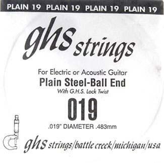 DY019P 019 plain Ball End