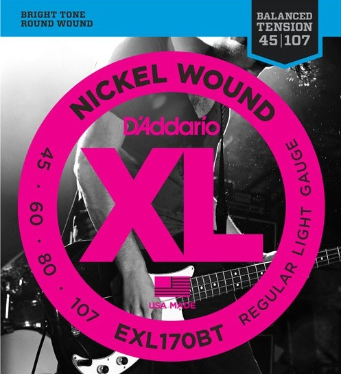DAddario - EXL170BT Balanced Tension