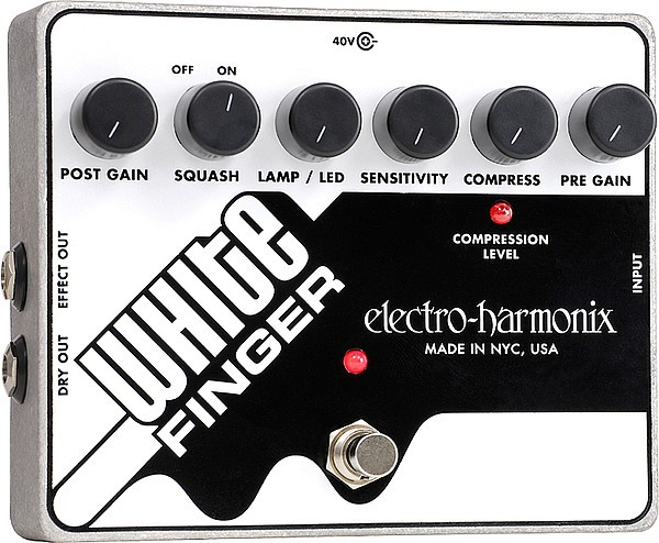 Electro Harmonix - White Finger OpticalCompressor
