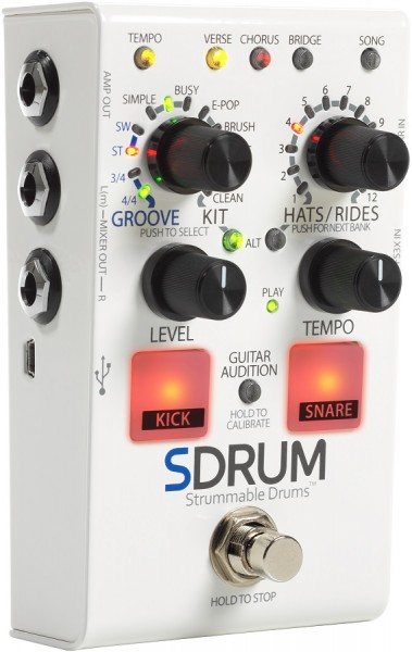 Digitech - SDRUM Strummable Drums