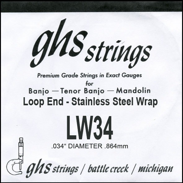 GHS - LW34 stainless steel 0.34w