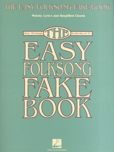 HAL LEONARD - HL00240360 The Easy Folksong