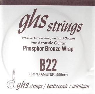 GHS - B22 Phosphor Bronze wound