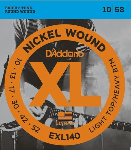DAddario - EXL140 nickel wound LTHB