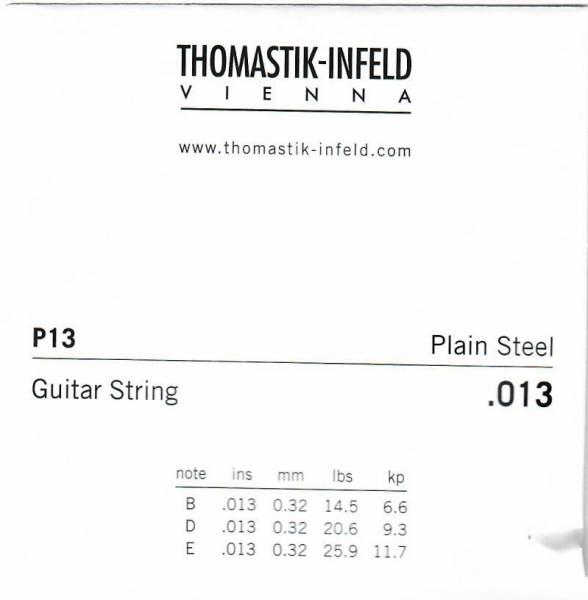 P13 plain steel Thomastik