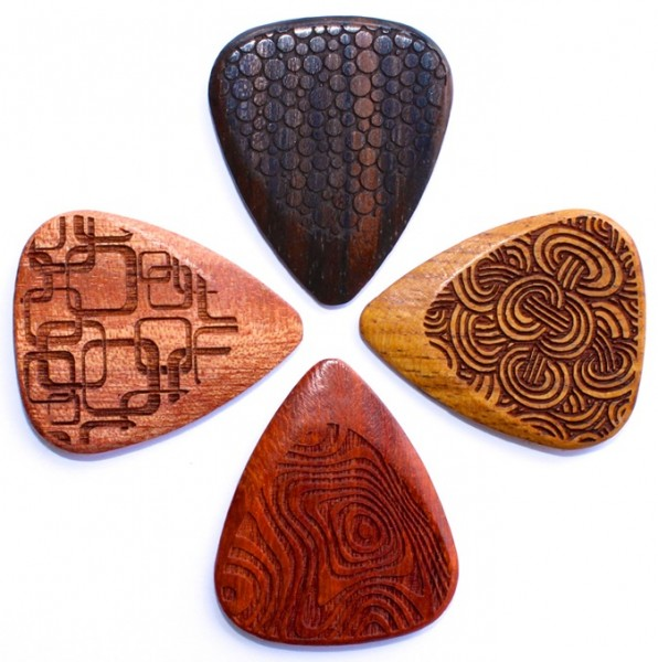Timber Tones - Laser Tones Grip 4er Pack