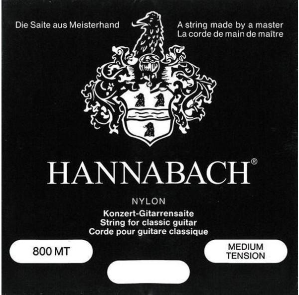 Hannabach - 800MT schwarz medium tension
