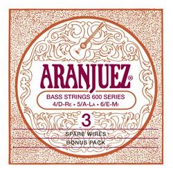 Aranjuez - A600BP 3er Bass Classic Gold