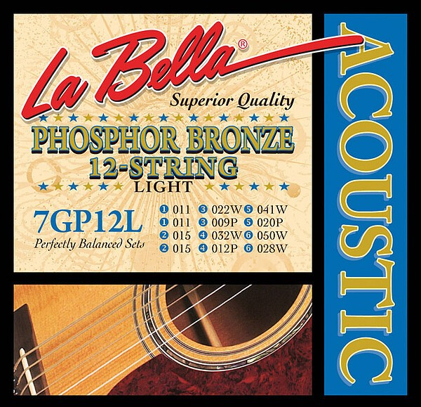 La Bella - 7GP12L Phosphor Bronze