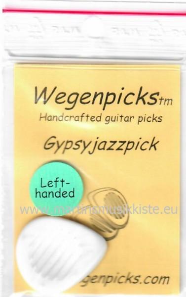 WEGENPICKS - WELIGYPSYJAZZ lefty white