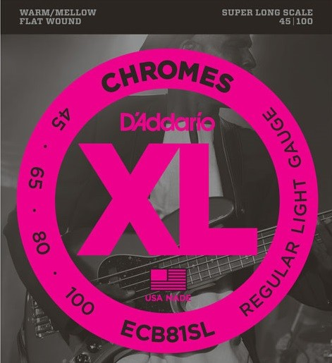 DAddario - ECB81SL Chromes FW SLC