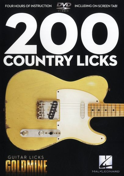 HAL LEONARD - HL00320932 200 Country Licks