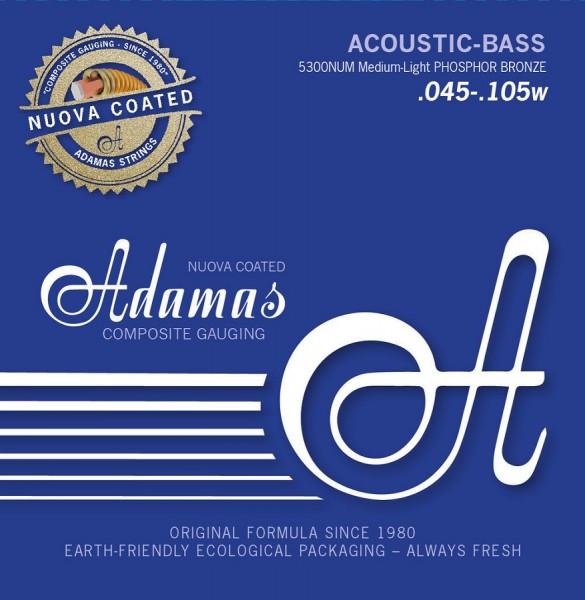 5300NUM 4S Coated Acou Bass Me