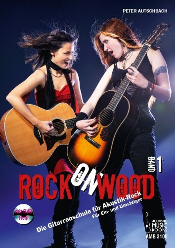 Acoustic Music Books - 3100 Rock on Wood Band 1