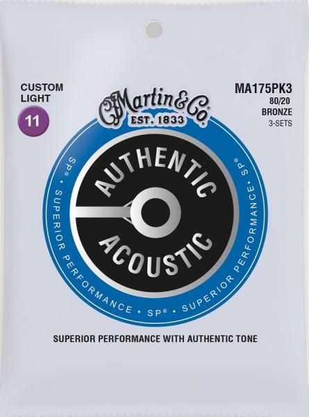 Martin - MA175PK3 Bronze 80/20 Custom