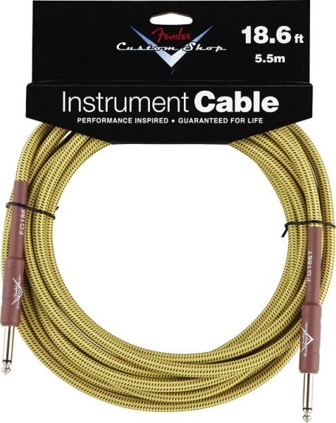 Fender - Custom Shop Kabel 5,5m Tweed
