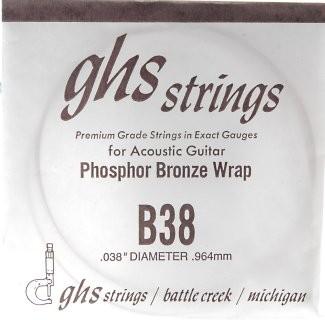 GHS - B38 Phosphor Bronze wound