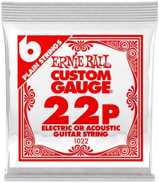 Ernie Ball - EB1022 plain Einzelsaiten 6 St