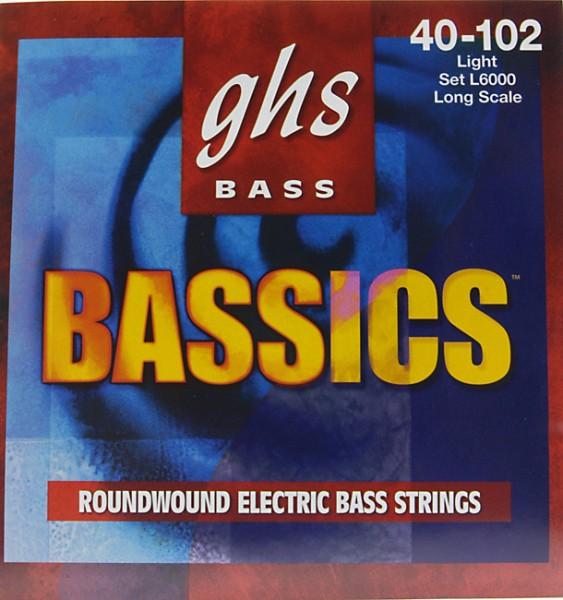 GHS - L6000 BASSics .040-.102