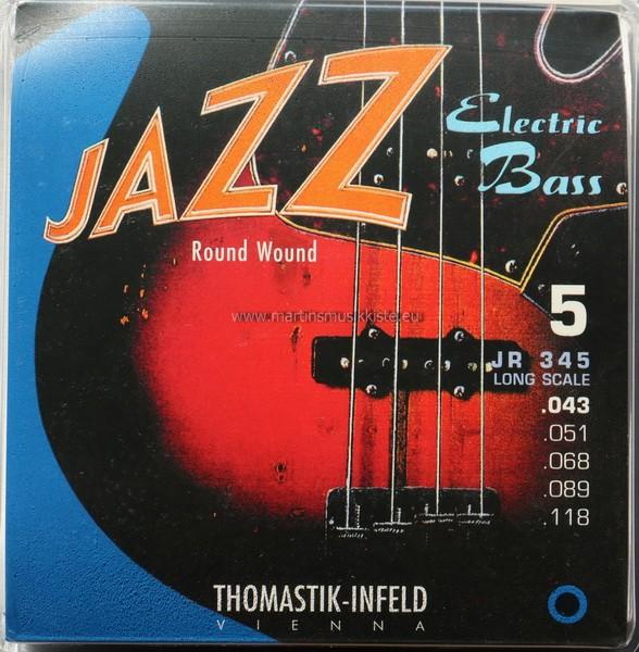 JR345 Bass 5S Roundwound