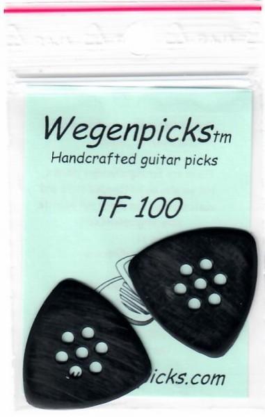 WETF100 1.0mm triangular black