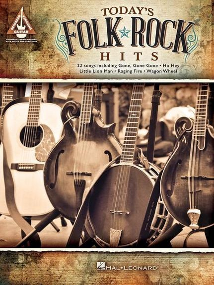 HAL LEONARD - Todays Folk Rock Hits Guitar