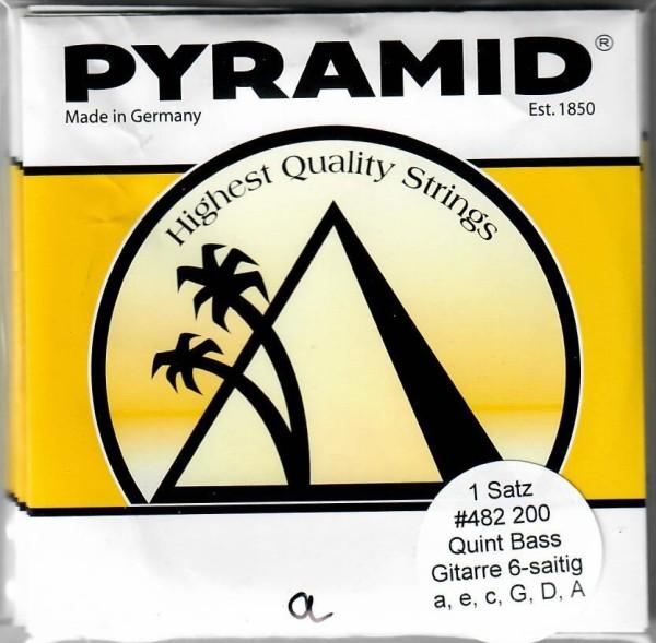 Pyramid - 482200 Quintbass Gitarre Nylon