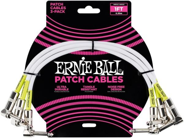 Ernie Ball - EB6055 Patchkabel 30cm weiß