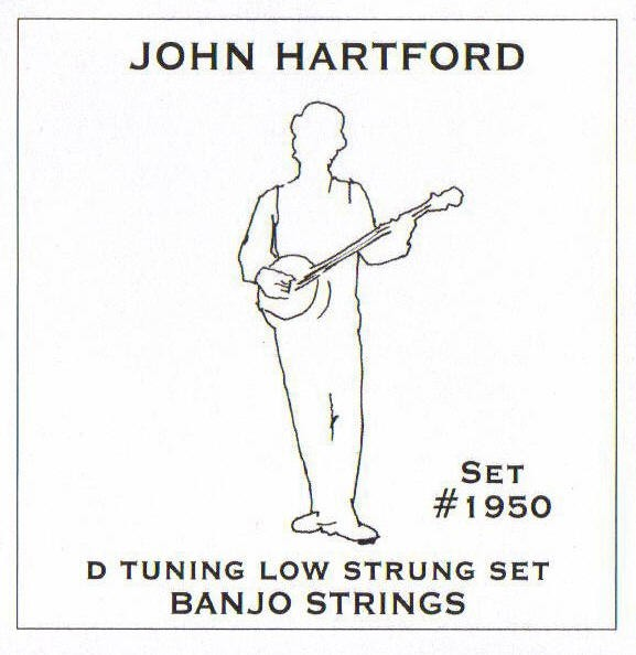 John Pearse - 1950 John Hartford D Tuning