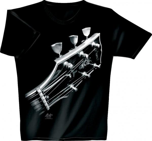 Rock You - T-Shirt Cosmic Guitar XL black