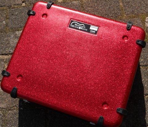 Pedal Box red silver interior
