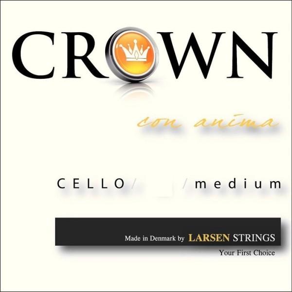 Cello Medium D 4/4 Chromstahl
