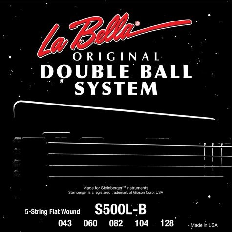S500L-B 5S DB Flatwound Steinb