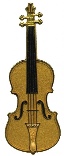 Future Primitive - 543 Stradivarius Violin Pin