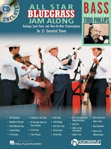 HAL LEONARD - HL00641947 All star Bluegrass