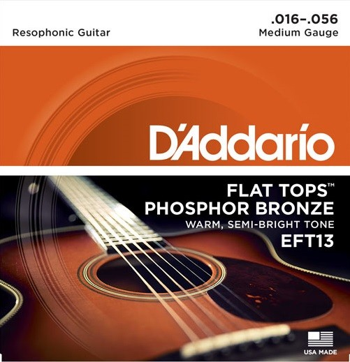 EFT13 FlatTop PhosphorBronze